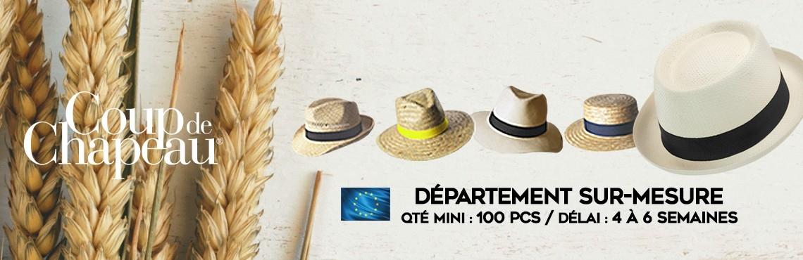 chapeaux publicitaires, panama