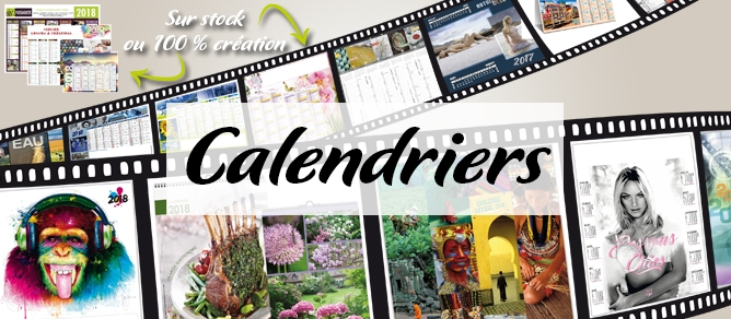 calendrier, éphéméride, 2018, sur mesure, calendar, sous-mains, illustrés, calendriers